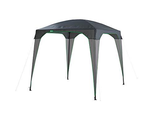 Crivit Pavillon 2,5m x 2,5m Garten Überdachung Gartenzelt Zelt Shelter
