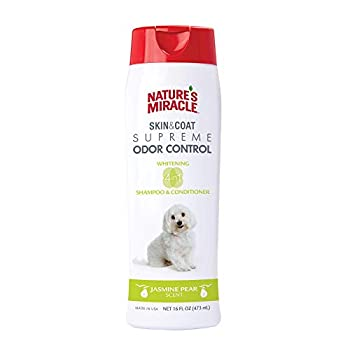 Nature s Miracle Supreme Whitening Odor Control Shampoo 16 oz.