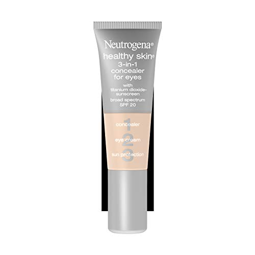 Neutrogena Healthy Skin 3-In-1 Concealer For Eyes Broad Spectrum Spf 20, Fair 05, .37 Oz.