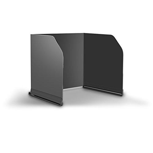 Foxom Fernsteuerpult Sonnenhaube Monitor Sonnenschutz Telefon Tablet iPad Sonnenschutz für DJI MAVIC PRO/ Spark Inspire / PHANTOM 3 4 Advanced Inspire 1 2 M600 OSMO size L200 (Schwarz)