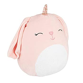 Squishmallows Bunnycorn 12  Plush Stuffed Animal - Pink Bunny Unicorn Squishy Soft Plush Toy - Great Easter Gift for Kids - Age 2+