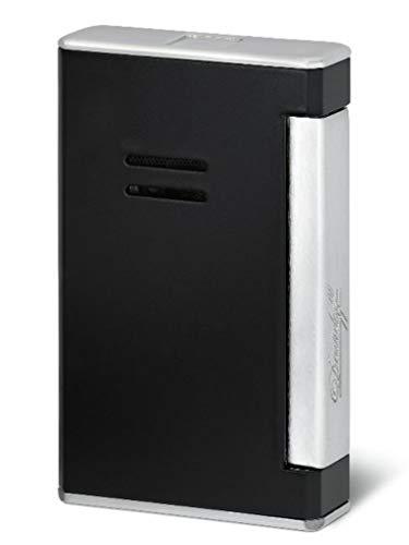 Davidoff Jetflame Feuerzeug Black Laquer Palladium inkl. Lifestyle-Ambiente Tastingbogen