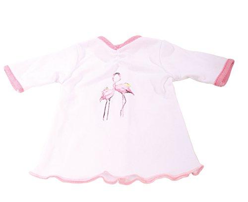 Götz 3402603 Nachthemd für Stehpuppen, Design Flamingo, passend für Puppengrößen 46 - 50 cm