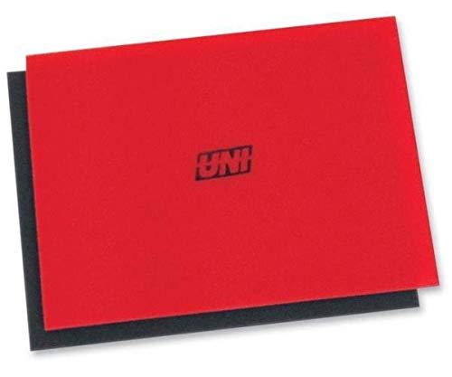 uni Bulk Coarse Foam Filter (40 PPI) - 12in. x 16in.x 3/8in. - Red