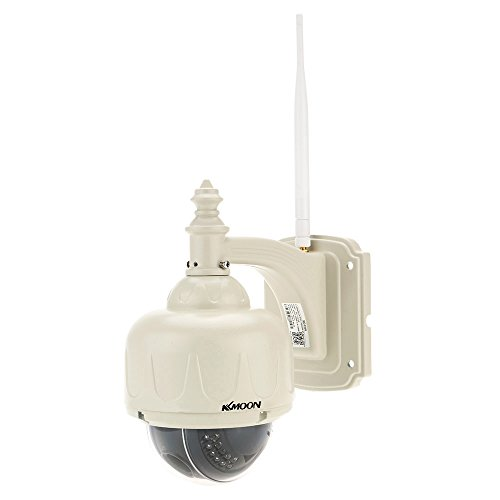 KKmoon IP Kamera HD 960P H.264 4X Zoom Auto-Fokus 3,5 Zoll 2,8-12mm PTZ Wireless WiFi Sicherheit CCTV-Kamera Home-Überwachung