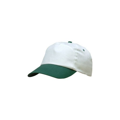 DASHOP Casquette Baseball Retro Bicolore Blanc/Vert
