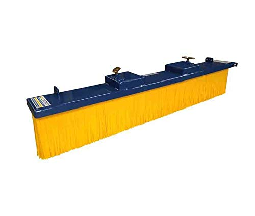 Forklift Push Broom Yard Sweeper. Suitable For Forklifts & Telehandlers. 1800mm Wide Sweeping Width - Fork Mounted Brush
