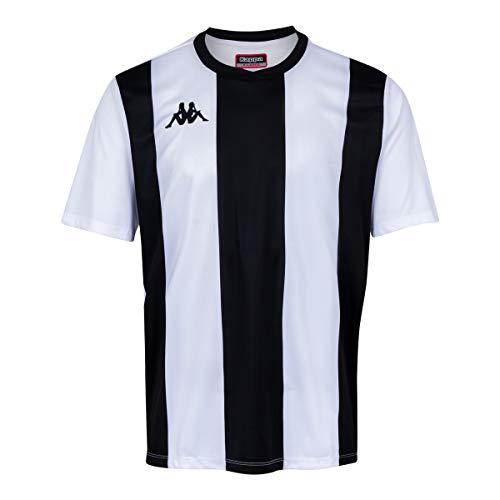 Kappa Caserne SS Camiseta de equipación, Hombre, Rojo/Negro, XL