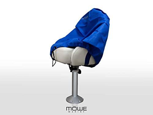 MÖWE MARINE afdekking voor bootstoelen blauw beschermhoes stoelbeschermer stuurstoel artikel 3130