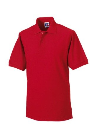Russels Workwear - Polo - - Polo - Col polo - Manches courtes Homme - Rouge - Classic Red - Large