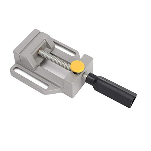 Annurssy Mini Vise Multi-function Electric Bracket Drill Press Clamps Aluminum Alloy Bench Vice