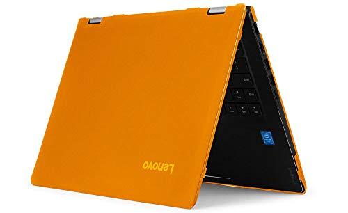 """mCover Hard Shell Case for 15.6"""" Lenovo Yoga C740 (15) Series 2-in-1 Laptop (NOT Fitting Other Lenovo laptops) (Yoga_C740_15 Orange)"""