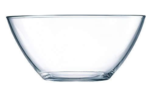 Luminarc ARC 64090 Cosmos Schale, Stapelschale, Schüssel, 17cm, 900ml, Glas, transparent, 1 Stück