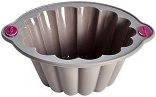 Lakeland en métal Bords cannelés-Silicone-Moule à gâteau Moule à Charlotte 24 x 9 cm
