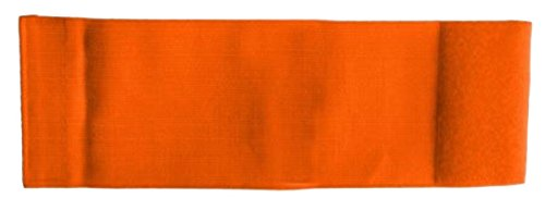 Unbekannt größenverstellbare Armbinde bedruckt mit IHREM INDIVIDUELLEM TEXT (SENIOR 25-36 cm) (Farbe neonorange)