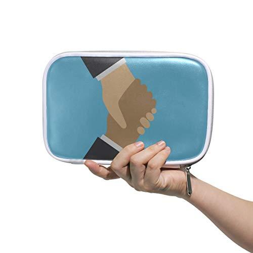 Femmes Maquillage Cas Poignée De Main D'affaires Partenaires Filles Suspendus Trousse De Toilette Maquillage Organisateur Cas Multifonctionnel Belle Femme Sacs Pour Hommes Femmes