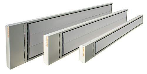 Vitalheizung Hochleistungsstrahler Industriestrahler HVHS+12 1200W RAL 9002 pulverbesch, Weiß