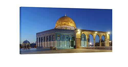 IslamicArtPoint Masjid e Aqsa/Al Aqsa/Jerusalem on Canvas