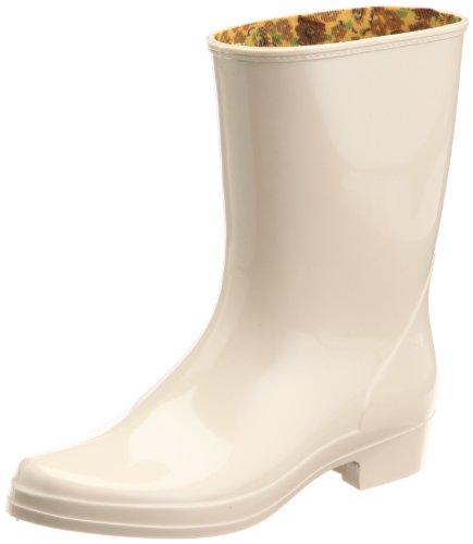[アキレス] レインブーツ 長靴 作業靴 レインシューズ 日本製 E レディース HLB 3100 ベージュ 23.5