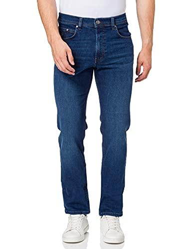 bugatti Herren 3280D-16641 Straight Jeans, Blau (Dunkel Blau 373), W38/L32