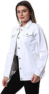 long jeans jacket for women