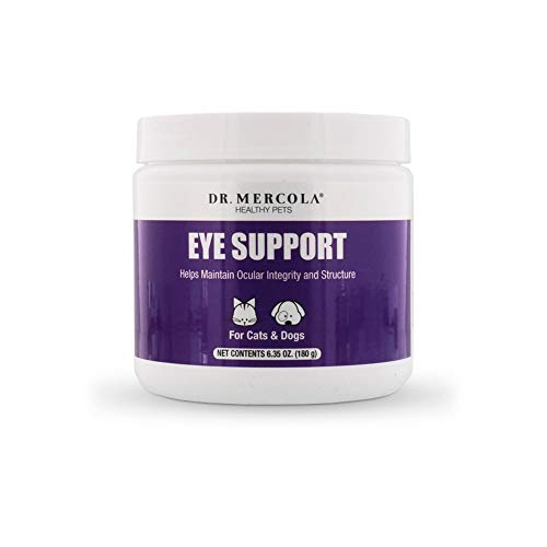 Dr. Mercola, Eye Support, For Cats and Dogs, 6.34 oz (180 g), non GMO, Gluten Free