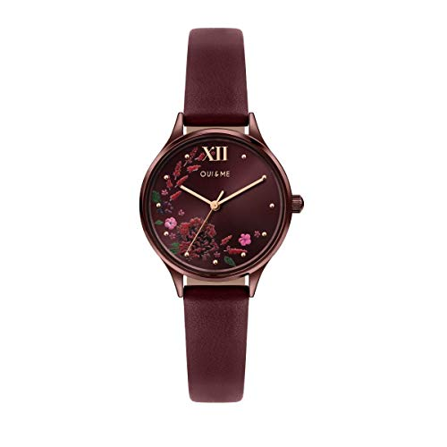 Oui & Me Reloj Analógico para Mujer de Cuarzo con Correa en Cuero ME010237