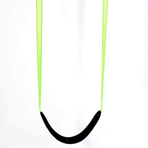 Columpio Swing Blando, Silla Colgante Ajustable, Ajustable y cómoda, Juguetes de jardín Interior y al Aire Libre y Juegos de 70x15cm