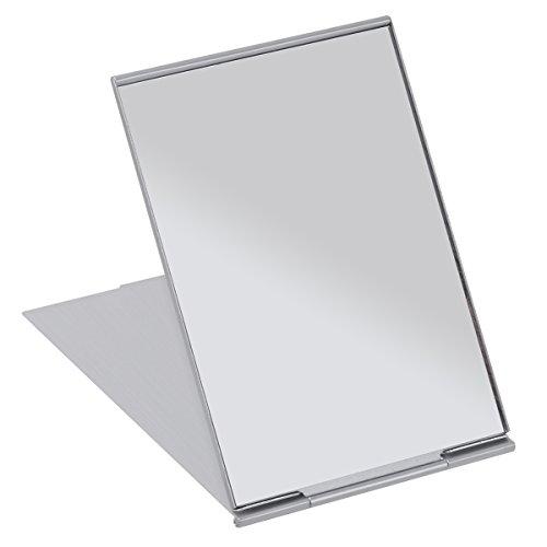 FRCOLOR Miroir compact de poche de miroir se pliant portatif de miroir de voyage pour le camping et le maquillage de rasage