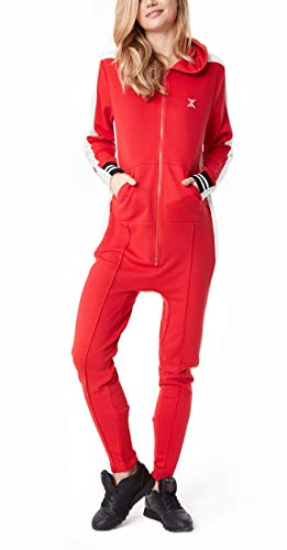 OnePiece Damen Jumpsuit Unisex Rider Retro, Rot (Red) Small - 5