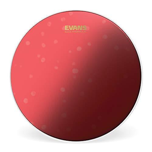 Evans Hydraulic Red. Parche batidor de caja rugoso rojo, 14 pulgadas