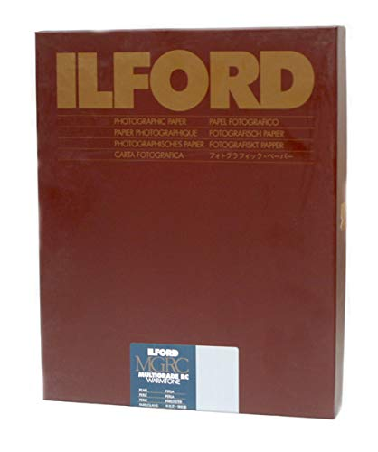 Ilford Multigrade RC Warmtone Resin Coated VC Variable Contrast Black & White Enlarging Paper - 8x10