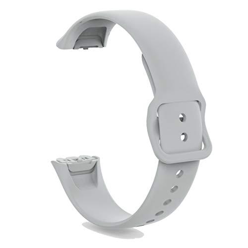 Neubula - Correa de silicona para reloj inteligente Samsung Galaxy Fit SM-R370 (gris)