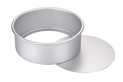 ROUND CAKE PAN WITH REMOVABLE BOTTOM 8X3INCH,9X3INCH,DEEP, HEAVY DUTY,DURABLE,EASY TO CLEAN A++++++QUALITY
