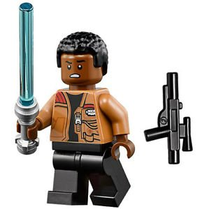 LEGO Star Wars Minifigure - Finn with Lightsaber and Blaster (75139) by LEGO