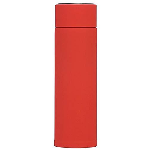 Generic Edelstahl-Thermoskanne 316 Edelstahl Echtzeit-Temperatur Intelligente Heiße Tasse Werbegeschenk @ Red_320Ml
