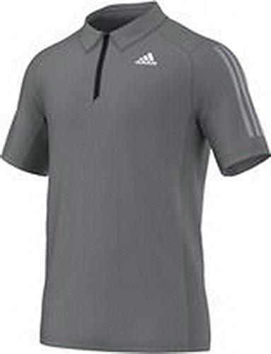 adidas Herren Poloshirt Clima365, Vista Grey S15, XL