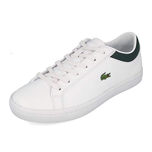 Lacoste Damen Straightset 0120 1 Cfa Sneaker, Weißes Wht Dk Grn, 38 EU