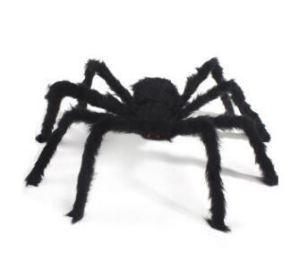 Nueva 125cm araña felpa marioneta juguete / decoración