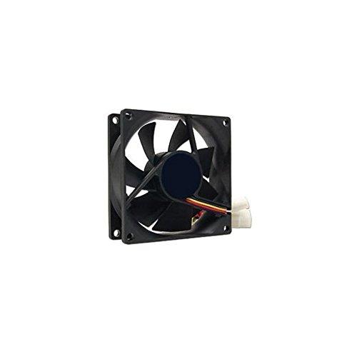 3GO FAN8BK - Ventilador de PC (Ventilador, Carcasa del Ordenador, 8 cm, Negro, 12V, 8 cm)