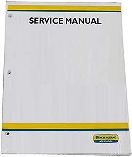 New Holland TC29DA, TC33DA Tractor Workshop Repair Service Manual - Part Number # 87057407