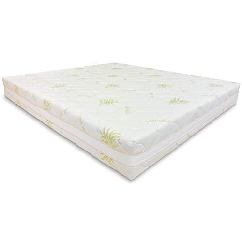 Baldiflex Matratze 700Sprungfedern, Kissen/Die Seife Aloe Vera, 180x 200cm