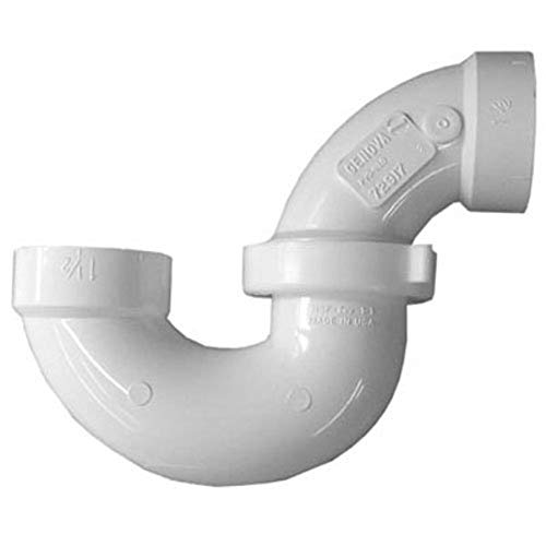 Genova Produits 1-.50in. Sch. 40 PVC-DWV r-glable P-pi-ge avec l'Union 78315