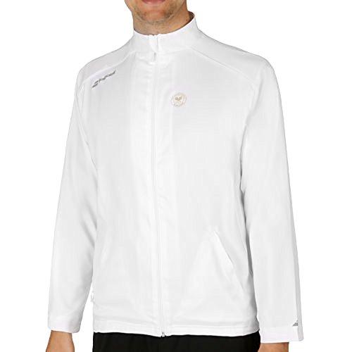 Babolat Mujer Chaqueta Wimbledon Tracksuit Jacket Match Core, Todo el año, Mujer, Color Blanco, tamaño Large