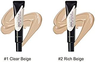[The Saem] Cover Perfection Liquid Concealer 15ml/#1 Clear Beige