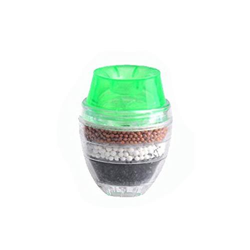 Keukenkraan waterreiniger voor thuisgebruik 5 lagen filter waterreiniger actieve koolfiltratie filter minikraan purifier GREEN