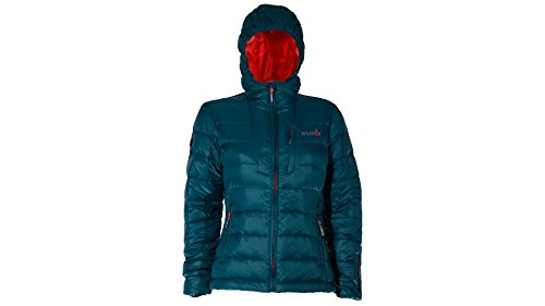 iFLOW Damen Peak Mountain Women Jacke, Petrol/Red, XL