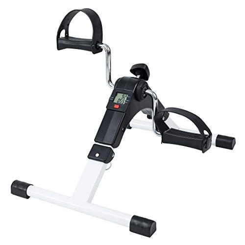 TechFit PED2 Mini Bicicleta Estática para Uso Doméstico y de Oficina, Máquina de Entrenamiento Fácil para Brazos y Piernas, con Pantalla LCD, Adecuada para Recuperación ✅