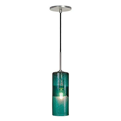 Jesco Lighting PD408-TE/BN 1-Light Line Voltage Pendant and...