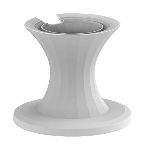 beeyuk Elegante Soporte de Escritorio de Aluminio para Apple HomePodHomePod Mini Almohadilla de Metal Antideslizante portátil para HomePodHomePod Mini Remarkable